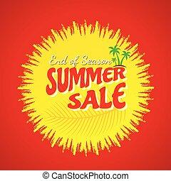 summer sale banner design