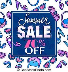 Summer sale design