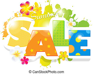 Summer Sale Design - Summer Sale Poster Design Template, ...