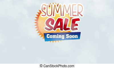 Summer sale desing, Video Animation