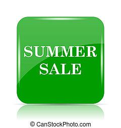 Summer sale icon