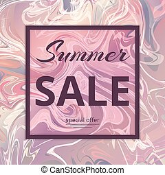 Summer Sale Pattern - Template special offer summer sale....