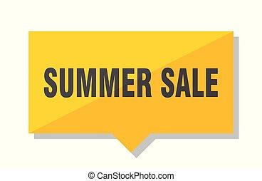 summer sale price tag
