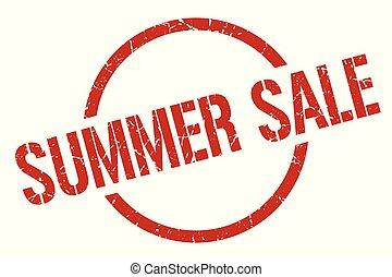 summer sale stamp