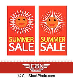 Summer sale sun sign