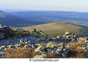 Summer Scandinavian mountains