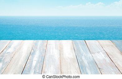 Summer sea landscape.