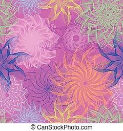 Summer seamless wallpaper, vector illustration