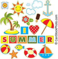 Summer Set Textile Element