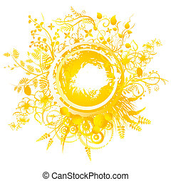 Summer Solstice - A circular geometric design for summer...