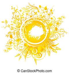Summer Solstice - A circular geometric design for summer...