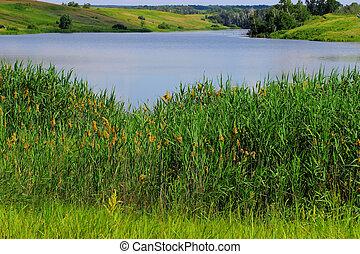 Summer spill of lake