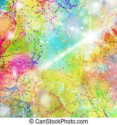 Summer splashes of color