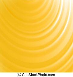 Summer Sun Background. Blurred Yellow Pattern