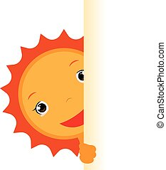summer sun cartoon character