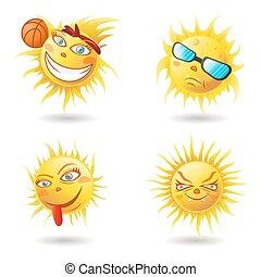 Summer Sun Face