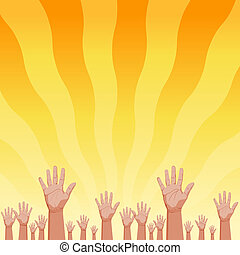 Summer Sunrise Fans