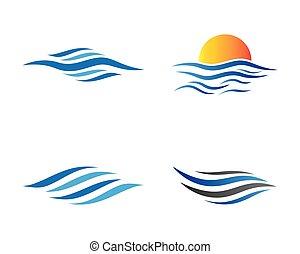Summer symbol vector icon