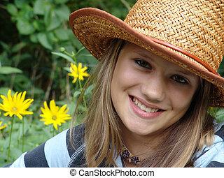 summer teenager