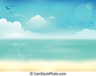 Summer theme abstract background 2