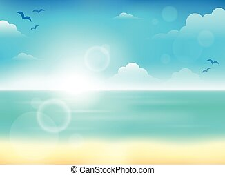 Summer theme abstract background 5
