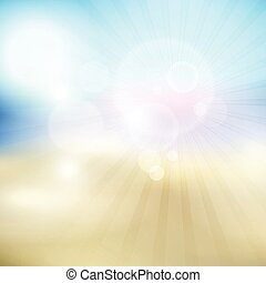 summer themed blur background 3105