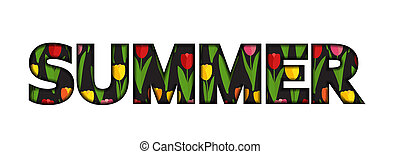 Summer Time Abstract Background.  Illustration