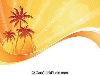 Summer time background - Attractive summer time background...