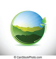 summer time concept illustration design