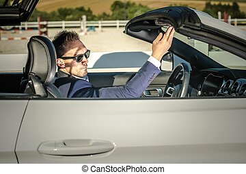 Convertible Sporty Car