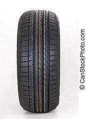 Brand new modern summer sports car tire