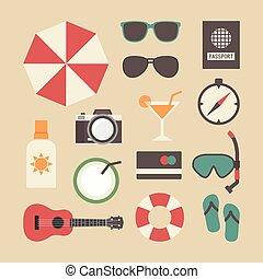 summer travel equipment