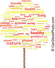 Summer Tree Ecology Word Cloud