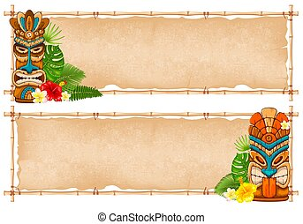 Summer tropical frame design