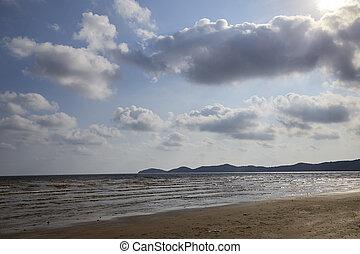 Summer tropical sea, beach