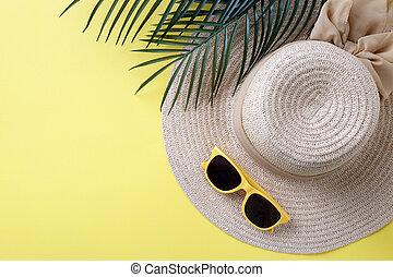 Summer vacation background
