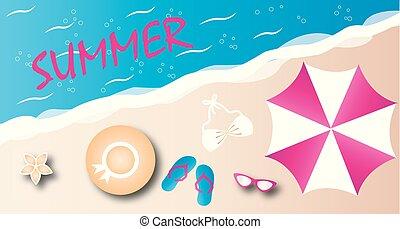 summer vacation beach summer header