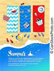 Summer vacation design