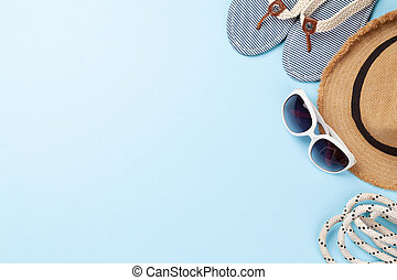 Summer vacation items and accessories