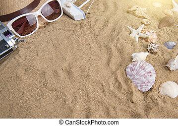 Summer vacation,beach accessories