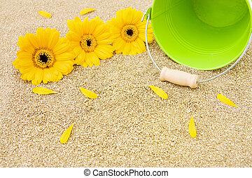Summer vacations at the beach