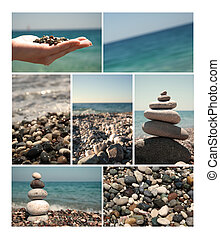Summer vacations, sea collection for your design