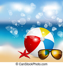 Summer - Vector summer illustration