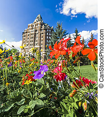 Summer View of the Banff Springs Hotel