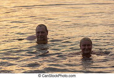 summer warm water