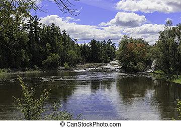 Summer water falls