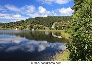 Summer weather in Norway