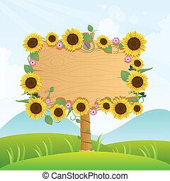 Summer Wooden Signage