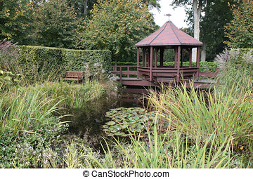 Summerhouse at the Pond