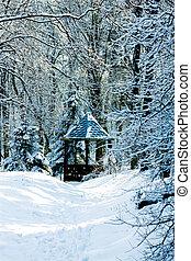 summerhouse, inverno